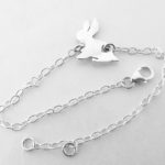 Rabbit bracelet in sterling silver made by dazzling jewellers