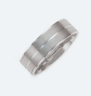 SSRG-127 Textured Sterling Silver Ring