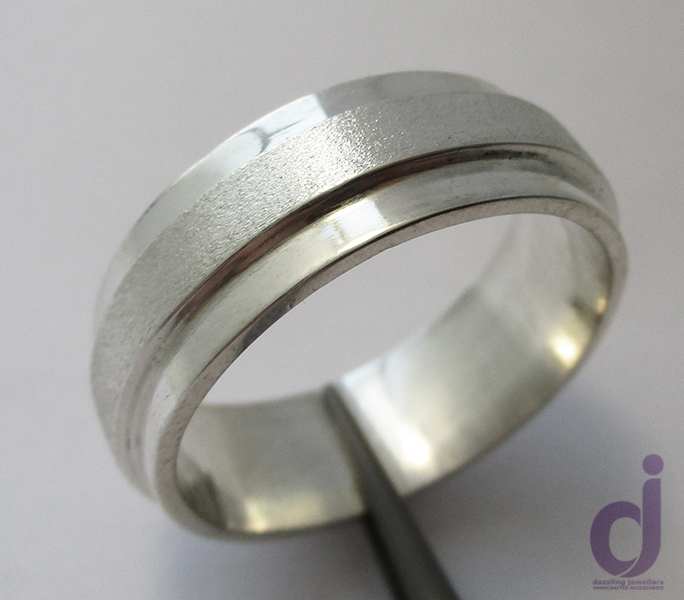 Large wedding Band by Dazzling Jewellers Size Z+7