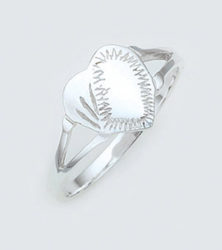 SKRG-002 Shield Panel Ring Sold by Dazzling Jewellers