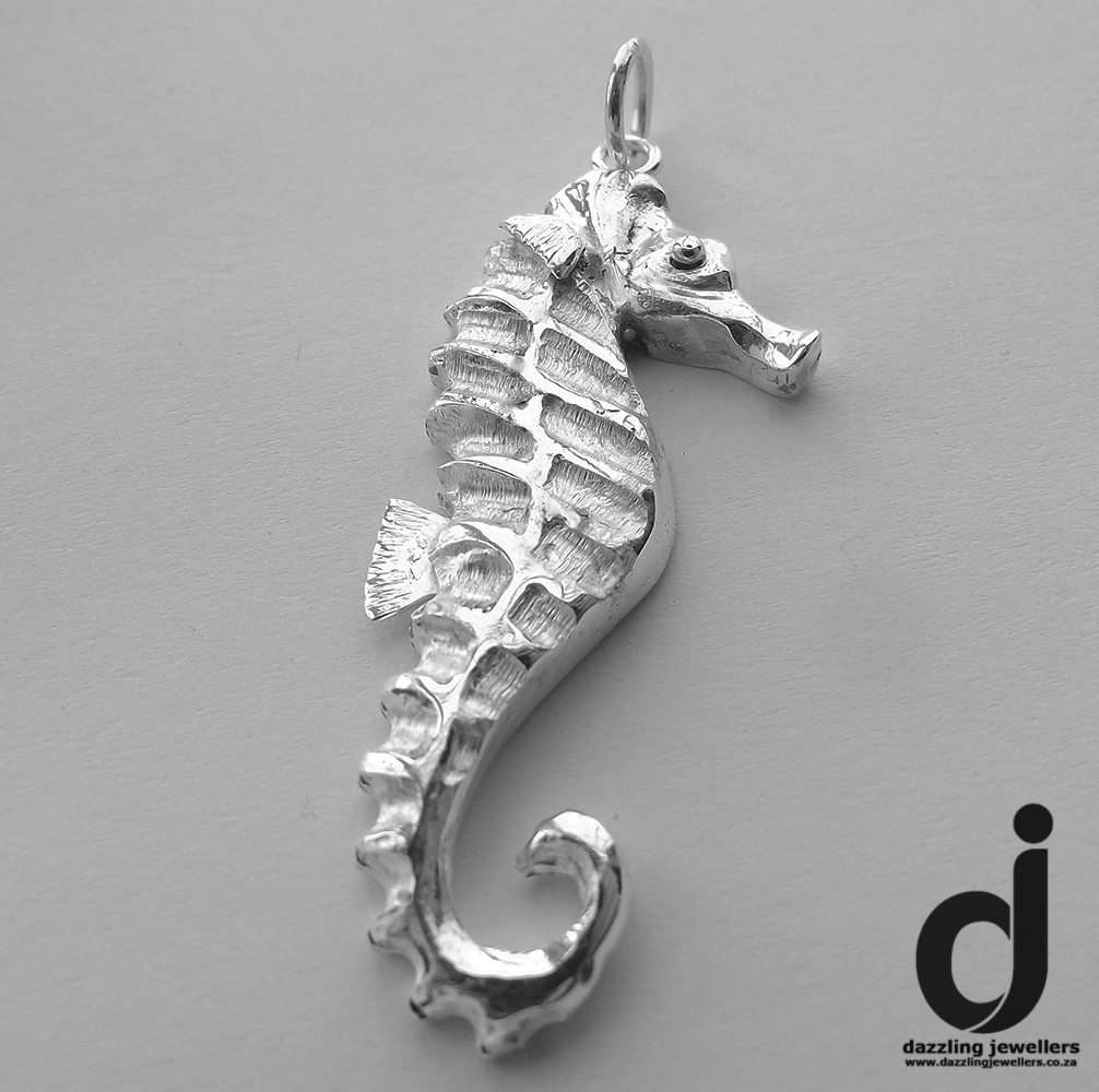 Scarlett Seahorse Pendant made by Dazzling Jewellers