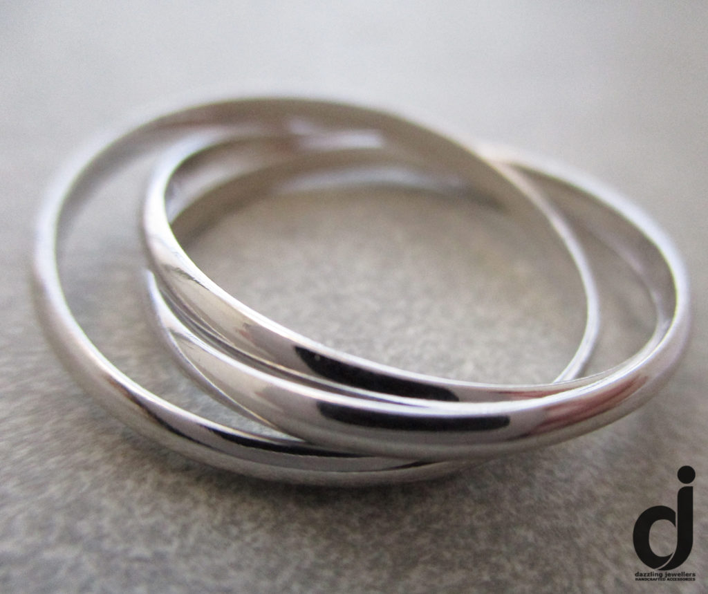 2mm Russian Wedding Band Size T sold by Dazzling Jewelllers 1 SSRG259