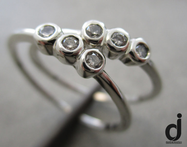 sister rings made by dazzling jewellers