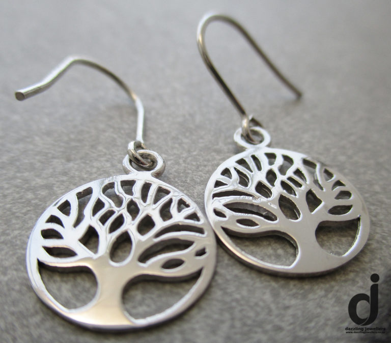tree of life earrings sold by dazzling jewellers sser279