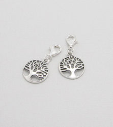 925 Sterling Silver Tree Of Life Charm from dazzling jewellers