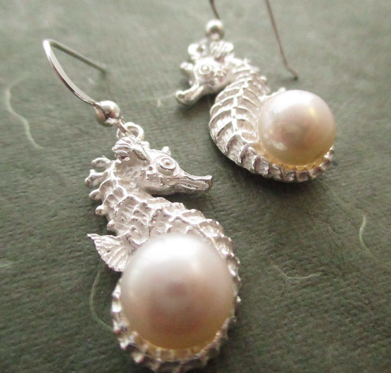Seahorse Earrings Sold by Dazzling Jewellers
