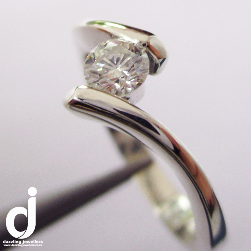 split-shank diamond ring